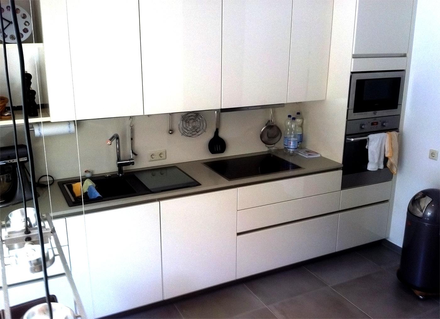kuche zu dunklem boden, dunkle küche dunkler boden. küche sonoma eiche weiß beton holz, Design ideen